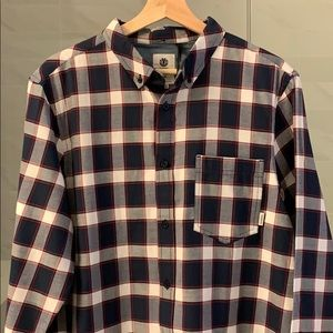 New Element L/S Button up Flannel